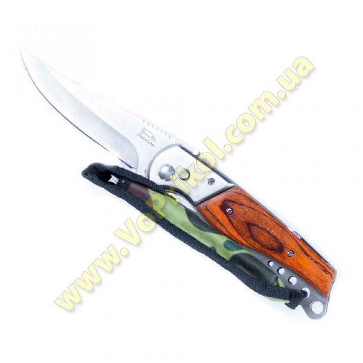 Нож 23 см. с фонариком