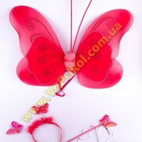 Крылья бабочки средние + палочка + обруч