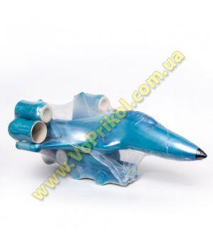 Бутылка - Штоф керамический - Самолет