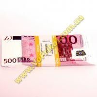 Пачка денег - 500 евро