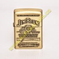 Зажигалка - бензиновая Zippo - JimBeam