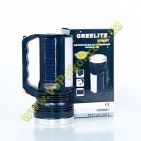 Фонарь на солнечной батарее + аккумулятор