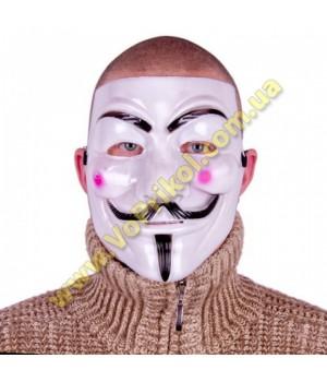 """Маска пластиковая Гая Фокса """"Anonymous"""""""