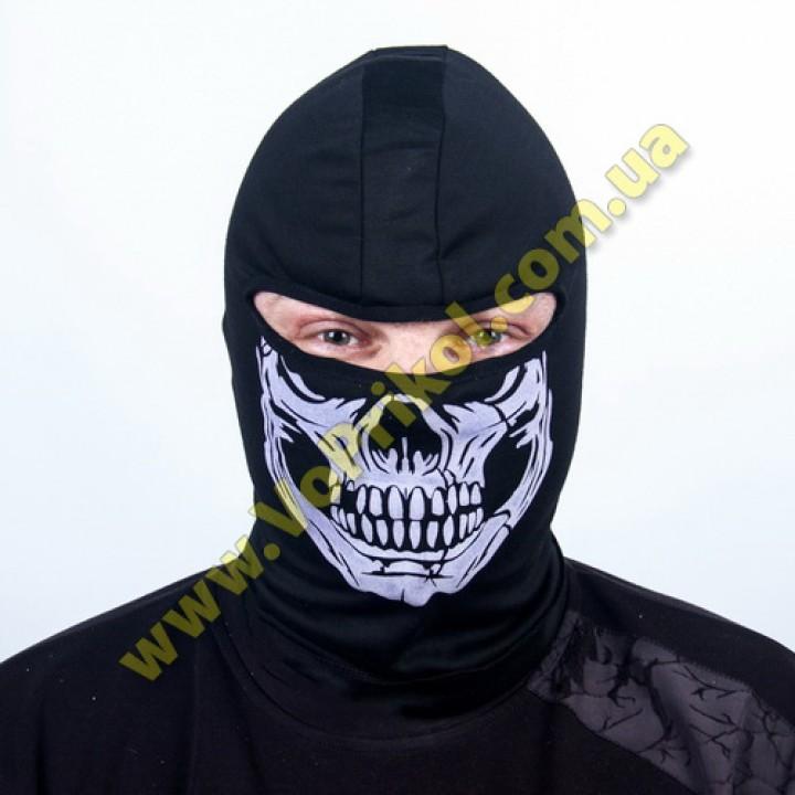 Балаклава маска шапка Череп термостойкая