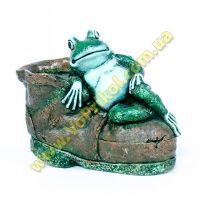 Копилка - Лягушка на ботинке