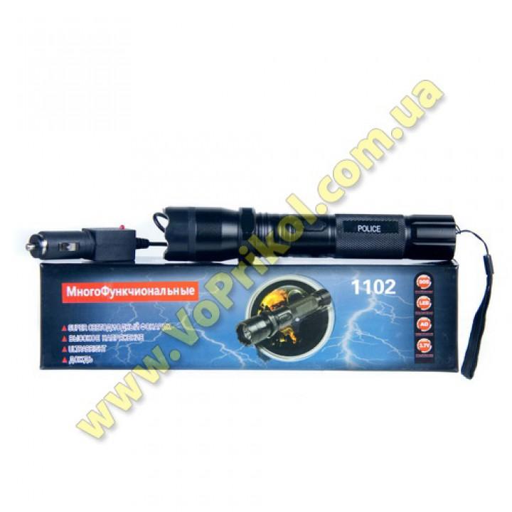 Шокер - Фонарь Скорпион со съемным аккумулятором