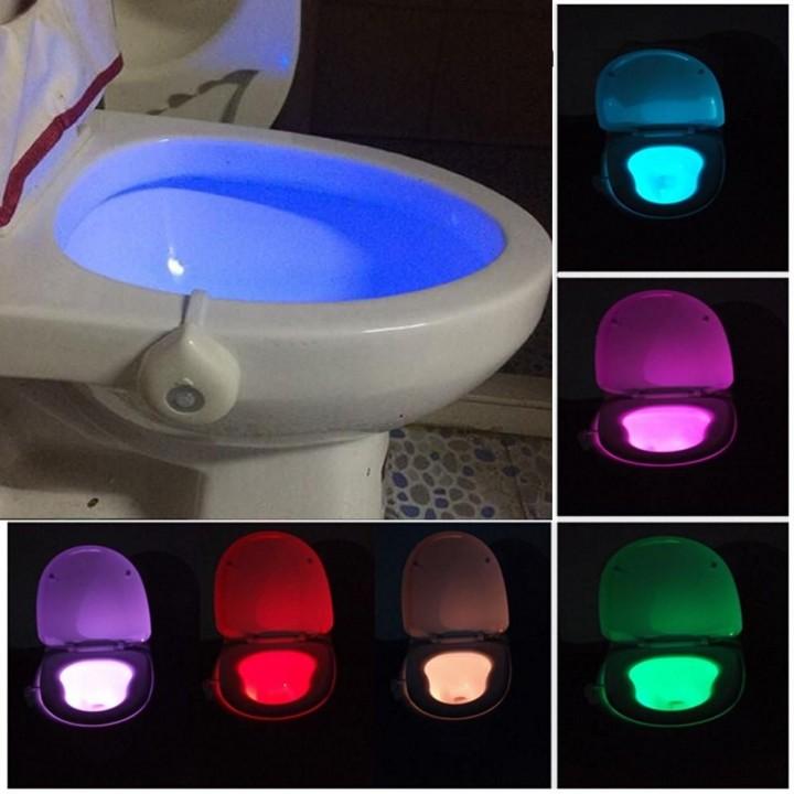 LED подсветка для унитаза с датчиком движения (8 цветов) купить недорого Киев Белая Церковь Фастов Васильков Украина