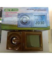 Радио-часы с будильником