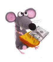 Мышь Крыса вязаная эротическая