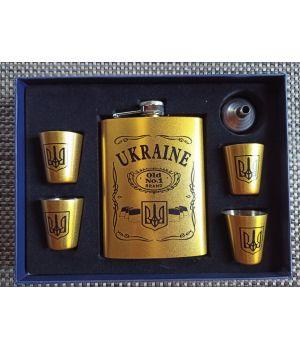 Подарочный набор с флягой Украина