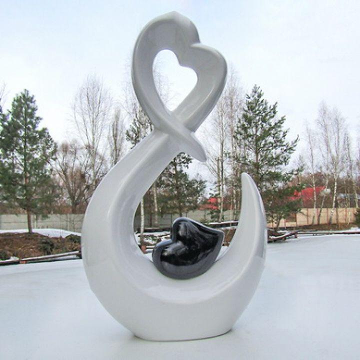 Статуэтка Сердце с сердцем купить недорого Киев Белая Церковь Фастов Васильков Украина