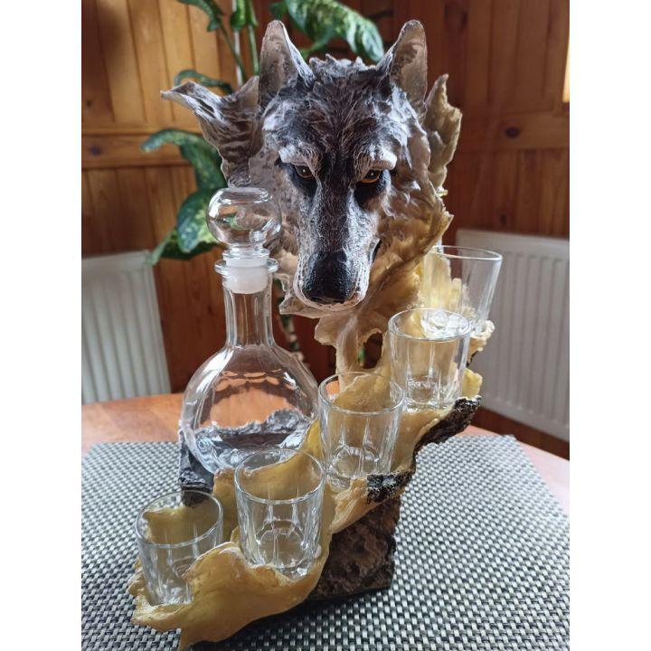 Штоф волк купить недорого Киев Белая Церковь Фастов Васильков Украина