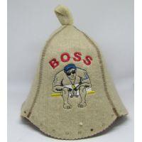 Шапка для бани Босс