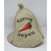 Шапка для бани Крутой перец