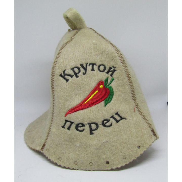 Шапка для бани Крутой перец купить недорого Киев Белая Церковь Фастов Васильков Украина