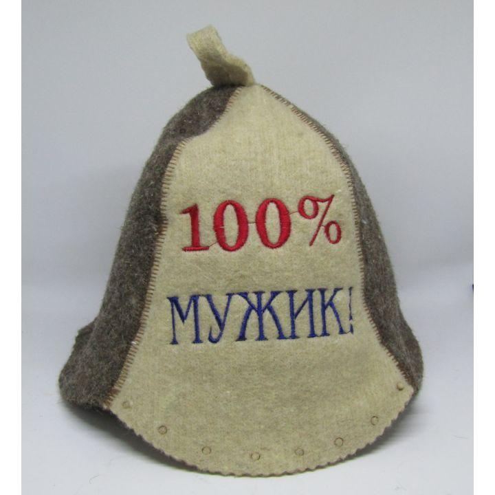 Шапка для бани Мужик купить недорого Киев Белая Церковь Фастов Васильков Украина