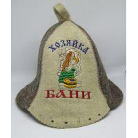 Шапка для бани Хозяйка