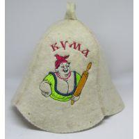 Шапка для бани Кума