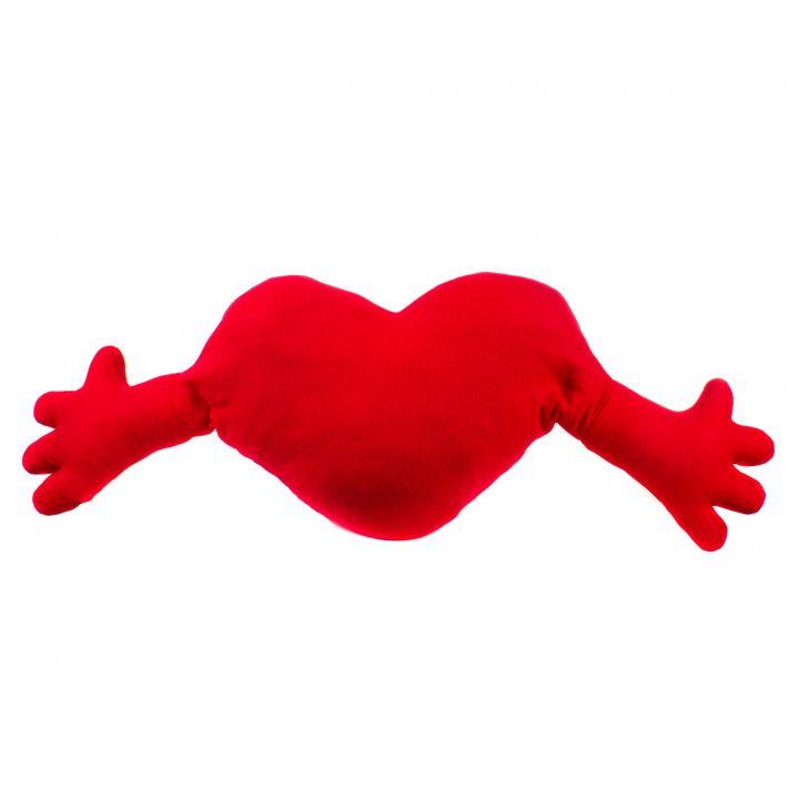 "Подушка ""Сердце"" с руками"