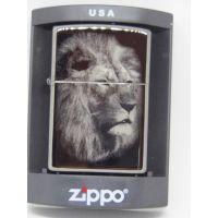 """Зажигалка бензиновая Zippo """"лев"""""""