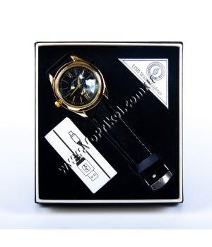Зажигалка USB c часами подарочная