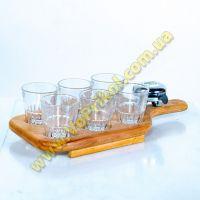 Досточка для алкоголя со звонком